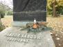 2011-11-01 Koszorúzás Vándor Sándor sírjánál