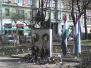 2011. március 15-i koszorúzás