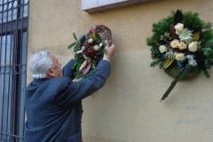2013. 10. 18. Vándor Sándor emléktábla koszorúzása