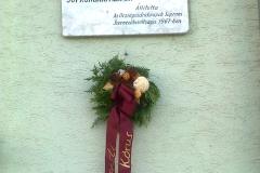 Vándor emléktábla Sopronbánfalván