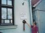 Vándor Sándor emléktábla koszorúzás 2012 nyara